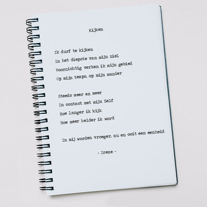 gedicht Kijken